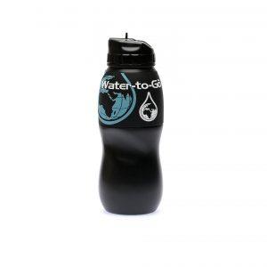 75 cl flaske sort