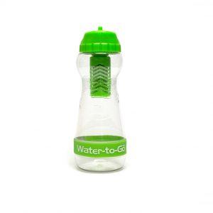 Grøn 50cl vandflaske med filter